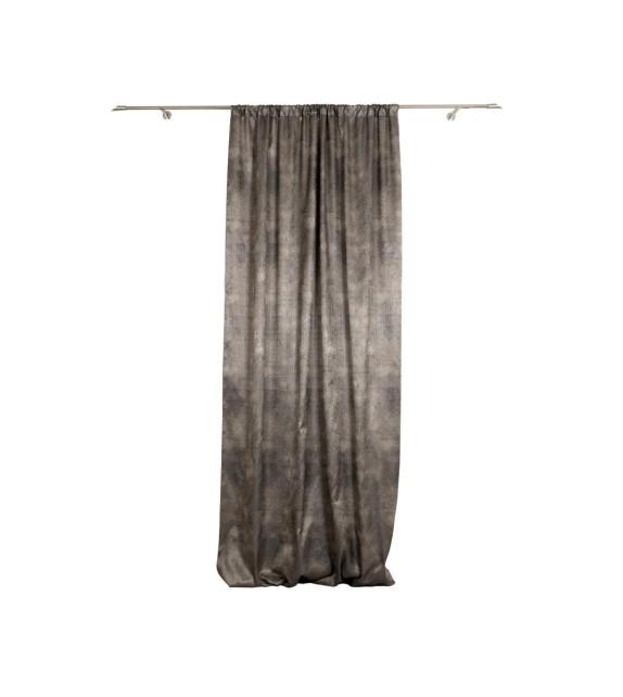 Material draperie Mendola decor Azure, latime 295cm, bej-auriu