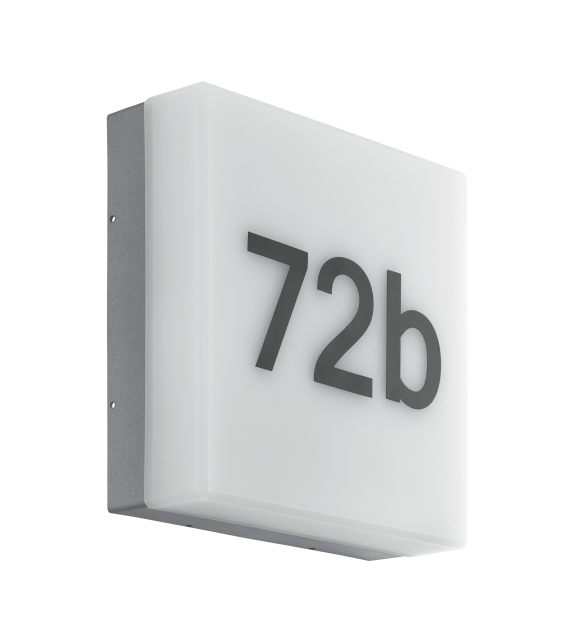 Aplica exterior EGLO 97289 CORNALE, LED 8.2W, 820lm, antracit