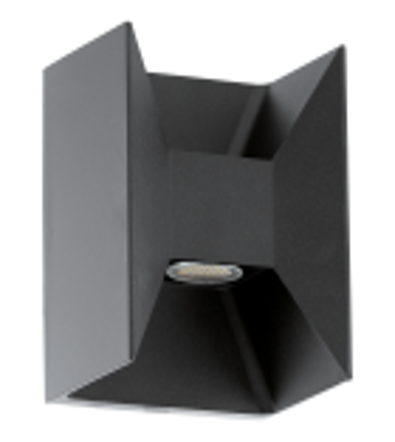 Aplica exterior EGLO 93319 MORINO, LED 2x2.5W, 360lm, antracit