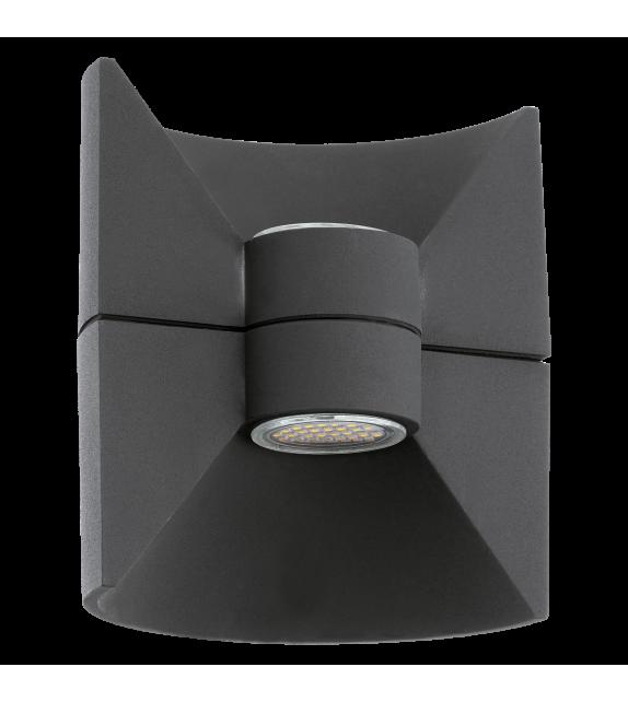 Aplica exterior EGLO 93368 REDONDO, LED 2x2.5W, 360lm, antracit