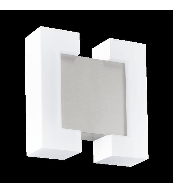 Aplica exterior EGLO 95987 SITIA, LED 2x4.8W, 1100lm, nichel-alb