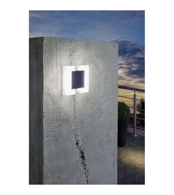 Aplica exterior EGLO 95988 SITIA, LED 2x4.8W, 1100lm, antracit-alb