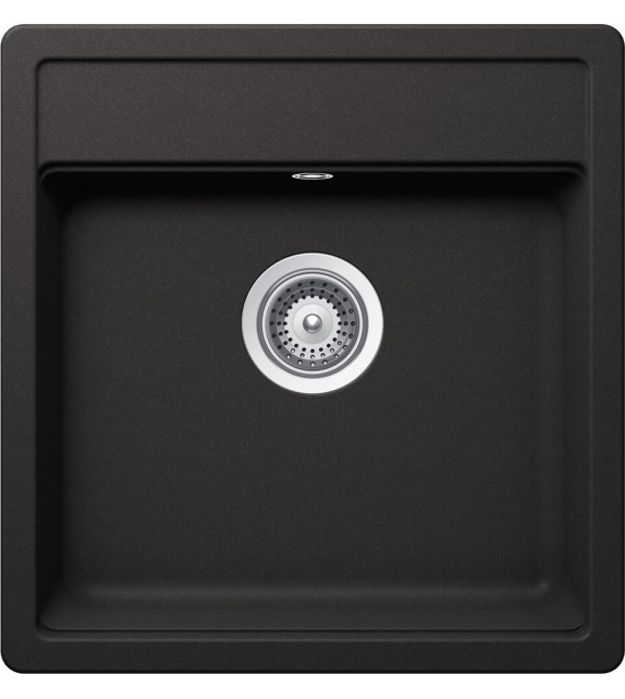 Chiuveta Bucatarie Granit SCHOCK NEMO N-100S Nero Cristalite, negru