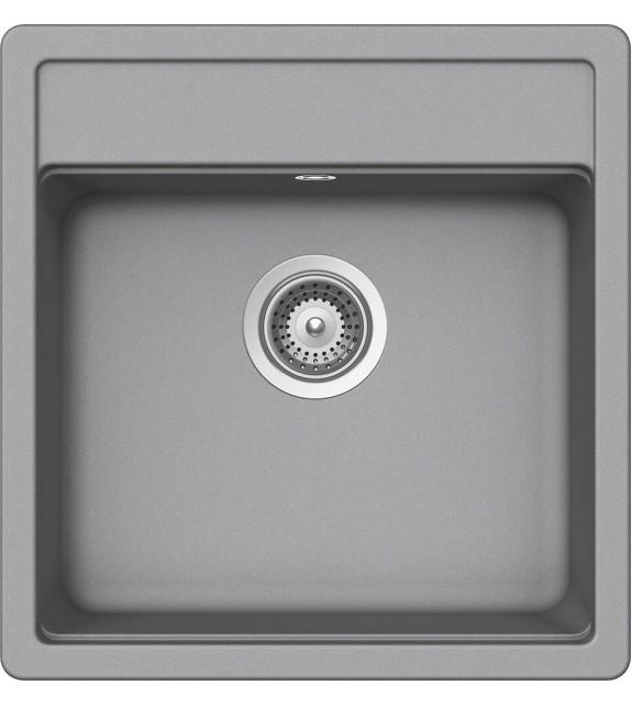 Chiuveta Bucatarie Granit SCHOCK NEMO N-100S Croma Cristalite, gri