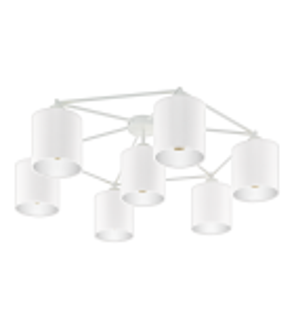 Plafoniera EGLO - STAITI 97903, E27, 7x40W, alb