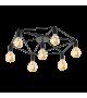 Plafoniera EGLO - STAITI 97904, E27, 7x60W, negru