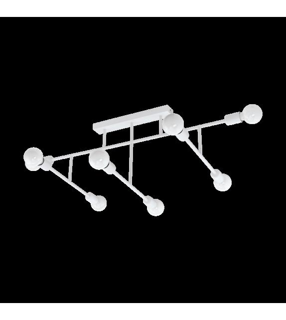 Plafoniera EGLO - BELSIANA 98033, E27, 8x40W, alb