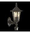 Aplica exterior cu senzor EGLO 22469 LATERNA 4, E27, 1x60W, negru, cu orientare in sus