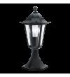 Stalp pitic exterior EGLO 22472 LATERNA 4, E27, 1x60W, negru