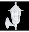 Aplica exterior EGLO 22463 LATERNA 4, E27, 1x60W, alb, cu orientare in sus
