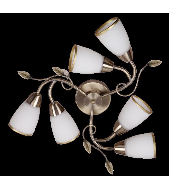 Lustra RABALUX 6146 Dreambells, E14, 6x40W, bronz
