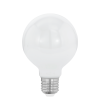 Bec LED E27 EGLO 11598 MILKY, 7W 806lm 2700k, Ø80mm