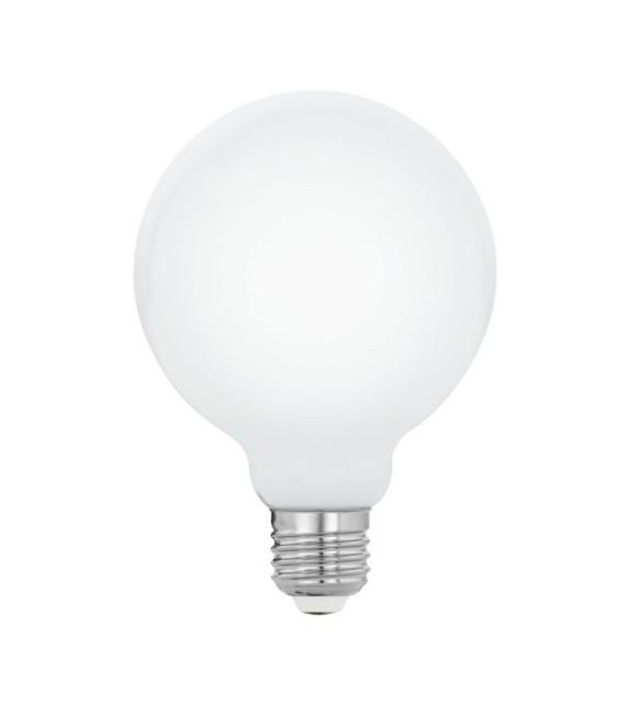 Bec LED E27 EGLO 11767 MILKY, 8W 1055lm 2700k, Ø95mm