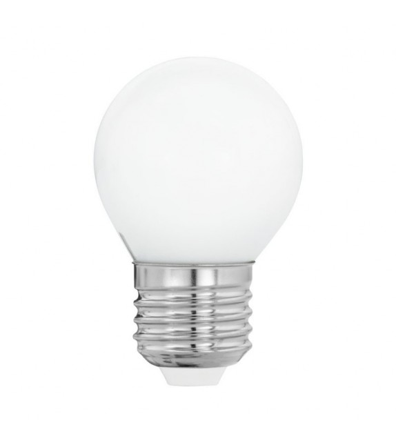 Bec LED E27 EGLO 11605 MILKY, 4W 470lm 2700k, Ø45mm