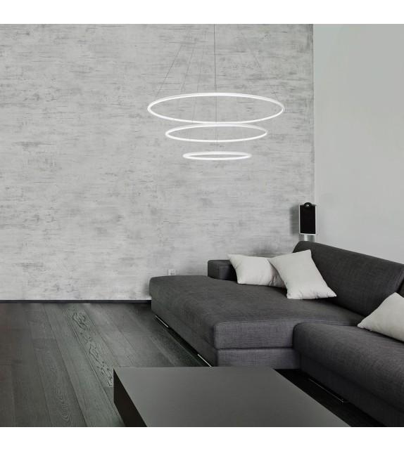 Pendul Donatella - 2545 Rabalux, LED 95W, alb-crom
