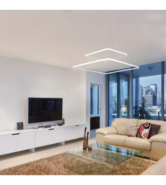 Pendul Donatella - 2546 Rabalux, LED 65W, alb-crom