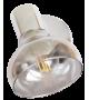 Aplica Spot HOLLY 5555 Rabalux, E14, 40W, Metal Cromat, Sticla Fumurie