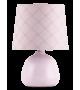 Veioza ELLIE 4384 Rabalux, E14, 40W, Ceramica Textil, Roz
