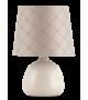 Veioza ELLIE 4380 Rabalux, E14, 40W, Ceramica Textil, Bej