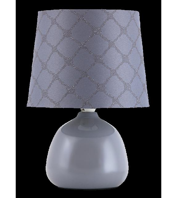 Veioza ELLIE 4381 Rabalux, E14, 40W, Ceramica Textil, Gri