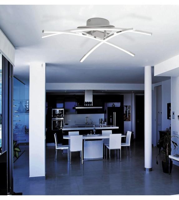 Lustra moderna Alexis - 2504 Rabalux, LED, 3x7W, crom