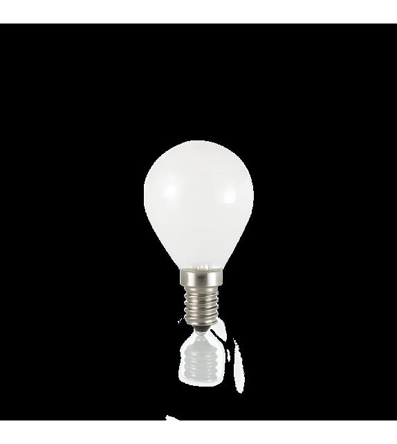 Bec LED E14 IDEAL LUX SFERA BIANCO 3000K, 4W 360lm, Ø45mm