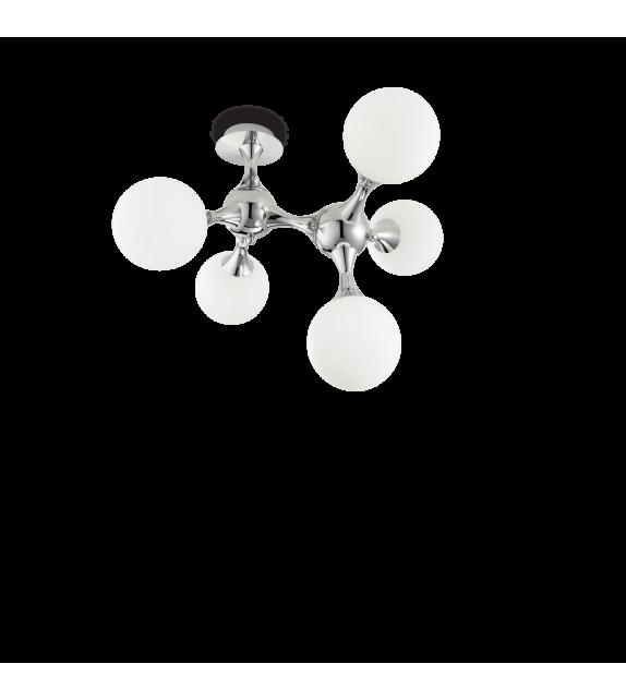 Plafoniera NODI PL5, 073712 IDEAL LUX, crom-alb