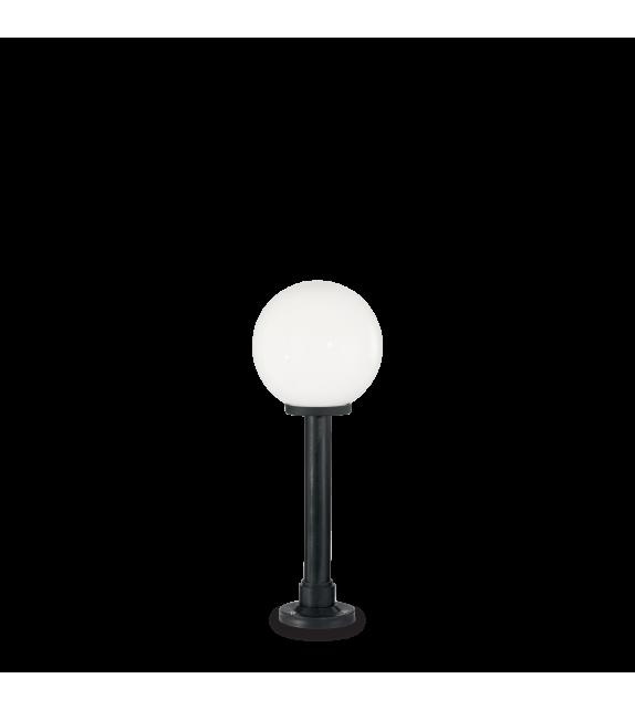 Stalp pitic exterior CLASSIC GLOBE PT1 Small IDEAL LUX, E27, 1x60W, negru