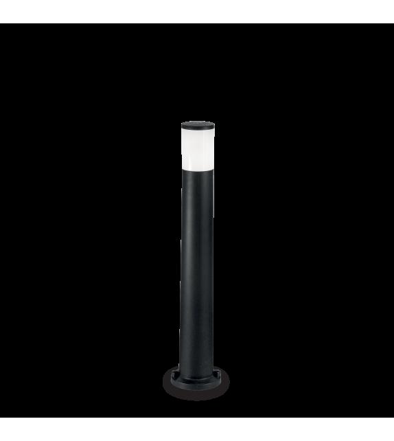 Stalp pitic exterior AMELIA PT1 IDEAL LUX, E27, 1x60W, negru