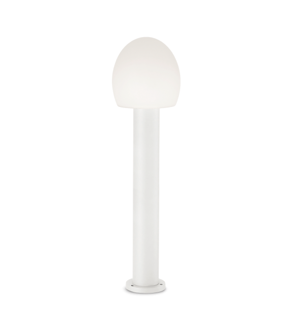 Stalp pitic exterior CONCERTO PT1 IDEAL LUX, E27, 1x60W, alb