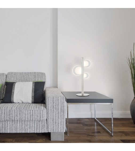 Veioza Moderna Rabalux 5656 LORRAINE, LED 9W, Metal Crom satinat