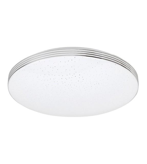 Plafoniera moderna OSCAR 3347 Rabalux, D35cm, LED 18W, 1350lm, alb/crom